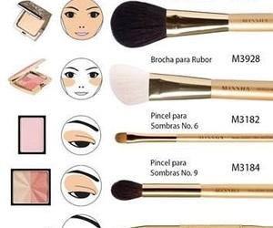 brush, maquillaje, and make up image