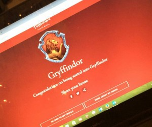 gryffindor, seperation, and harry potter image