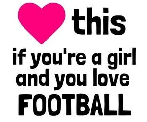 football, girl, and soccer image