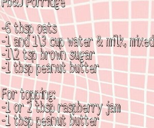 breakfast, oatmeal, and recipes image