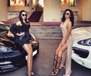 luxury, car, and dress image