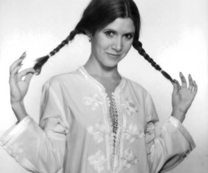 beautiful, goodbye, and carrie fisher image