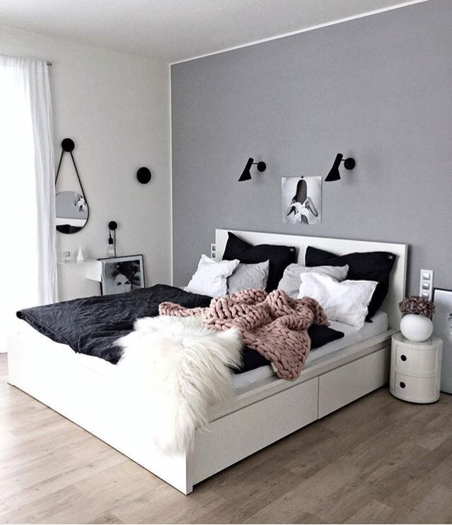 My Future Bedroom Goals Tumblr Room White Rosegold Pastel Gray Uploaded By Violly Hood