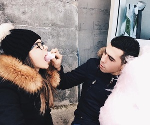 adorable, cotton candy, and cute couple image