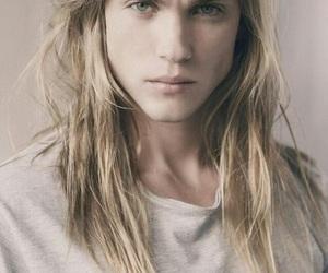 long hair, man, and model image