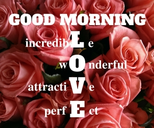 good morning and good morning love image