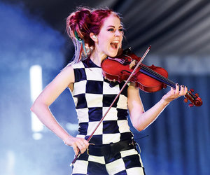 music, pop, and violin image