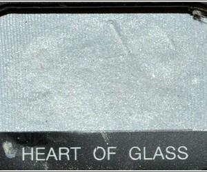 eyeshadow, heart, and glass image