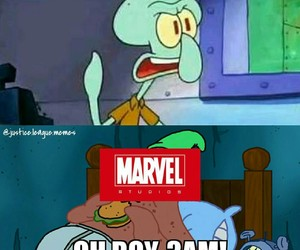 comic, DC, and Marvel image