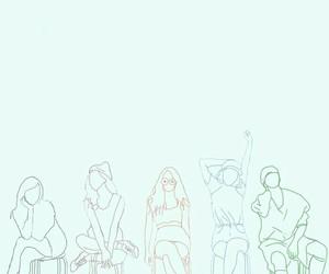art, fanart, and girl group image