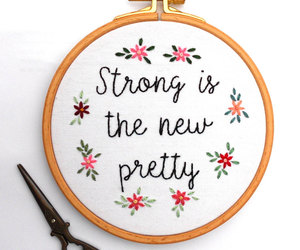 crafts, embroidery, and words image