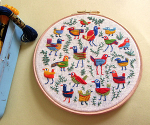 animal pattern, crafts, and embroidery image