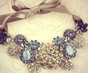 necklace, diamond, and accessories image