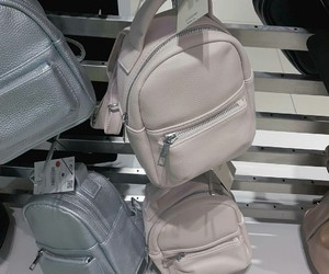 backpack, Bershka, and fashion image