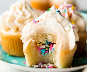 desserts, sweets, and cupcakes image