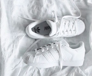 beautiful, sneakers, and white image
