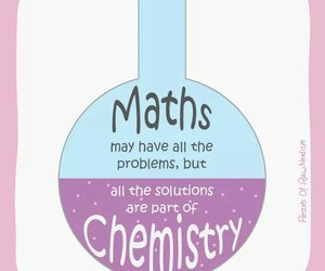 chemistry, school, and maths image
