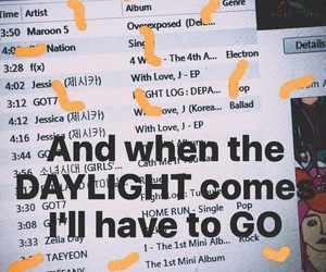 daylight, iTunes, and maroon5 image