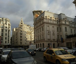 beige, bucharest, and building image