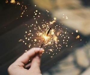 light, magic, and sparkler image