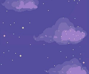 purple, clouds, and wallpaper image