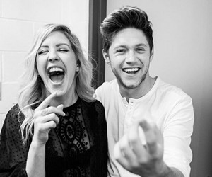 blackwhite, famous, and niallhoran image