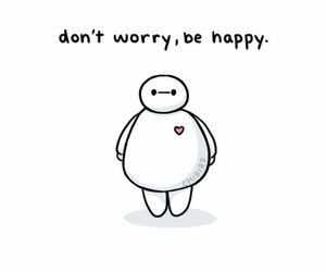 happy and baymax image