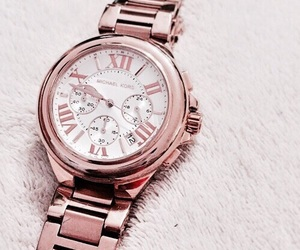 watch, luxury, and rose gold image