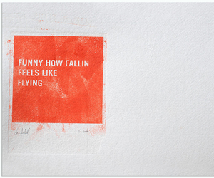 quotes, fallin, and Flying image