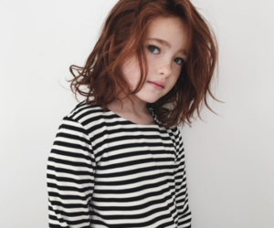 ginger, little girl, and redhead kid image