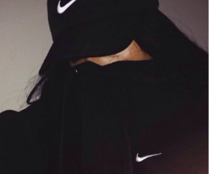 nike, black, and tumblr image