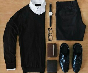 diary, shirt, and watch image