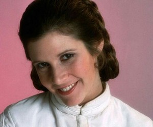 star wars, carrie fisher, and leia organa image