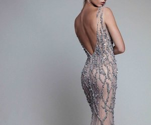 dress, fashion, and shiny image