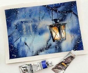 art, winter, and beautiful image