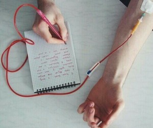 blood, notes, and genius image