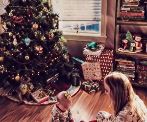 baby, family, and holiday image