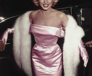 actress, Marilyn Monroe, and rose image