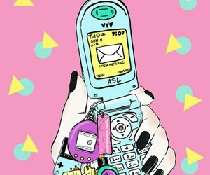 wallpaper, 90s, and pink image