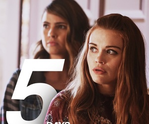 malia, lydia martin, and teen wolf image
