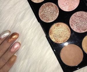 beauty, makeup revolution, and swatch image
