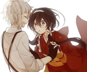 anime, bungou stray dogs, and atsushi image