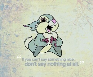 disney, quote, and bunny image