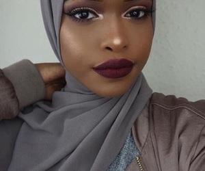 black girl, girl, and islam image