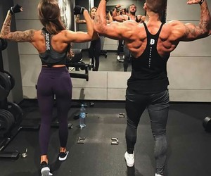 fit, couple, and fit couple image