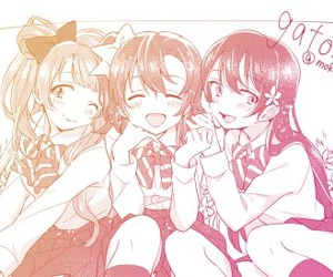 anime girl, love live, and beautiful image