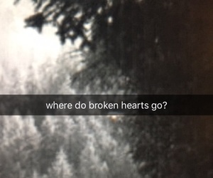 broken, broken heart, and direction image