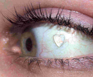 grunge, heart, and eye image