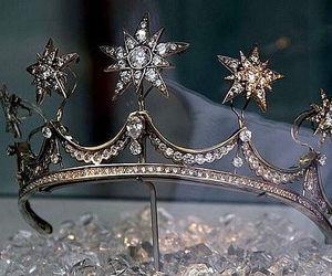 crown, diamond, and stars image