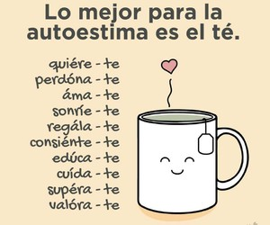 te, autoestima, and frases image